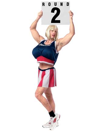 Adult Male Ring Girl Costume
