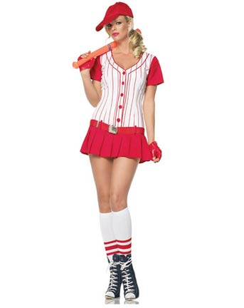 Baseball Player Adult Costume