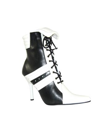 Black And White Sexy Sports Shoe Adult