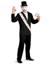 Mens Deluxe Mr. Monopoly Costume