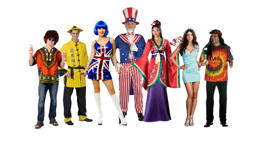 Olympic International Costumes