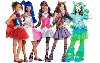halloween costumes kids girls katy perry Popular-Girls-Costum