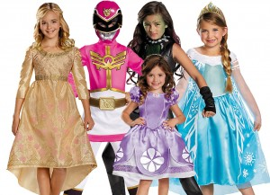 popular girls costumes for 2014