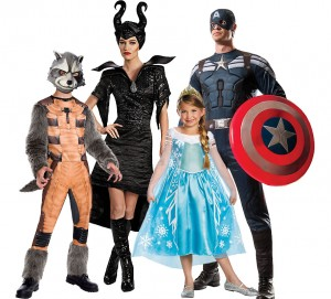 2014 Popular Halloween costumes