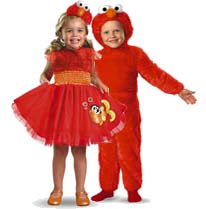 Elmo costumes for boys and girls