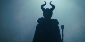 Silhouette of Maleficent