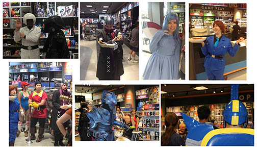 Cosplay collage